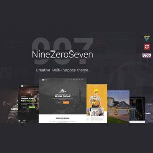 907 Responsive Multi-Purpose WordPress Theme