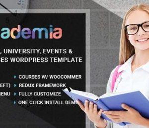 Academia Education Center WordPress Theme