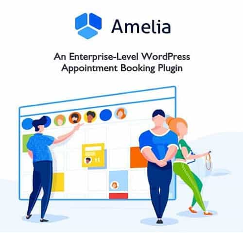 Amelia Enterprise Level Appointment Booking WordPress Plugin
