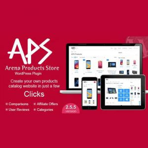 Arena Products Store WordPress Plugin