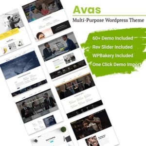 Avas Multi-Purpose WordPress Theme