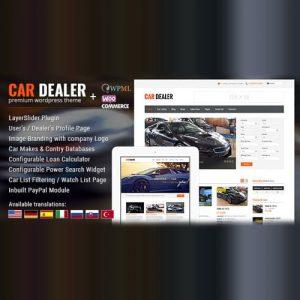 Car Dealer Automotive WordPress Theme Responsive