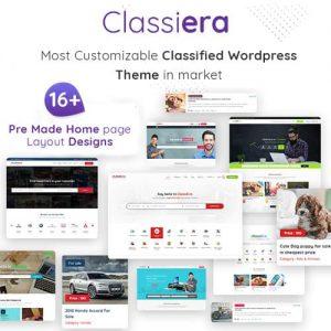 Classiera Classified Ads WordPress Theme