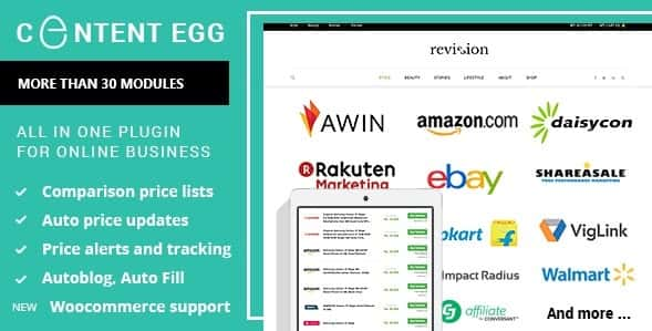Content Egg - All in One Plugin for Affiliate