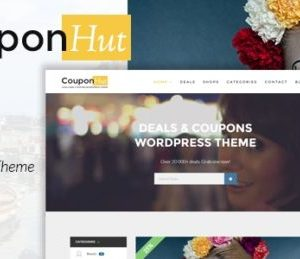 CouponHut Coupons & Deals WordPress Theme