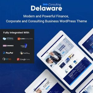 Delaware Consulting and Finance WordPress Theme