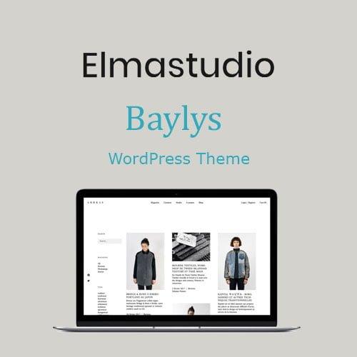 ElmaStudio Baylys WordPress Theme
