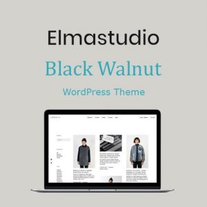ElmaStudio Black Walnut WordPress Theme