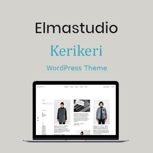 ElmaStudio Kerikeri WordPress Theme