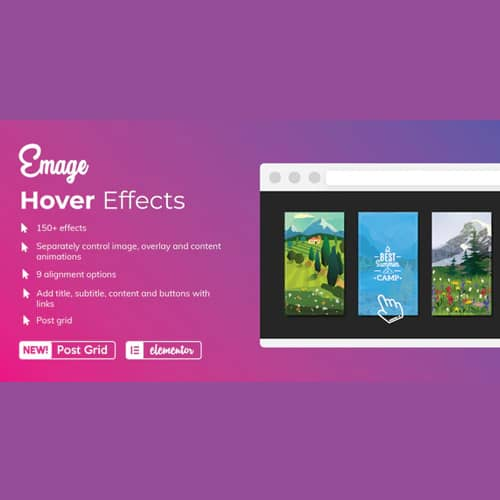 Emage Image Hover Effects for Elementor