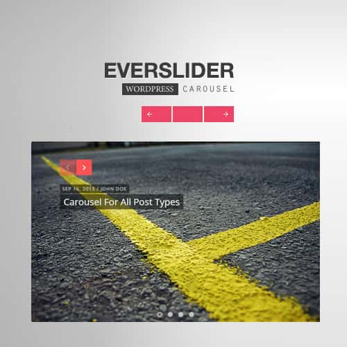 Everslider Responsive WordPress Carousel Plugin