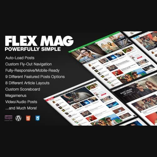 Flex Mag Responsive WordPress News Theme