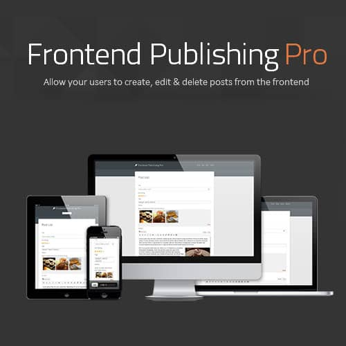 Frontend Publishing Pro