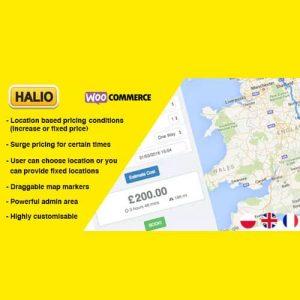 Halio WooCommerce Taxi Booking Plugin