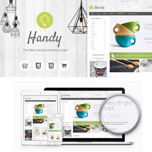 Handy Handmade Shop WordPress WooCommerce Theme