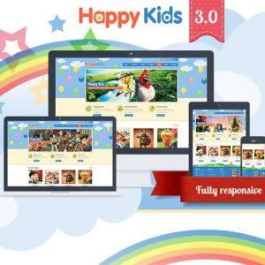 Happy Kids Children WordPress Theme