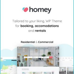 Homey Booking and Rentals WordPress Theme