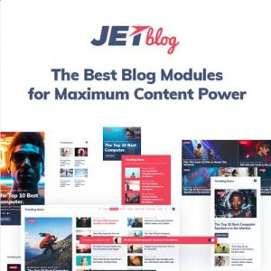 JetBlog Blogging Package for Elementor Page Builder