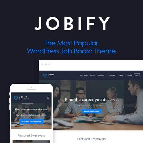 Jobify The Most Popular WordPress Job Board Theme