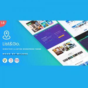 ListGo Directory WordPress Theme