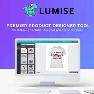 Lumise Product Designer WooCommerce WordPress Theme