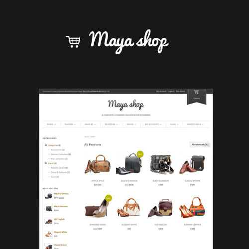 MayaShop A Flexible Responsive e-Commerce Theme