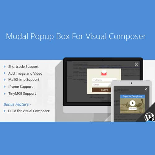 Modal Popup Box For WPBakery Page Builder