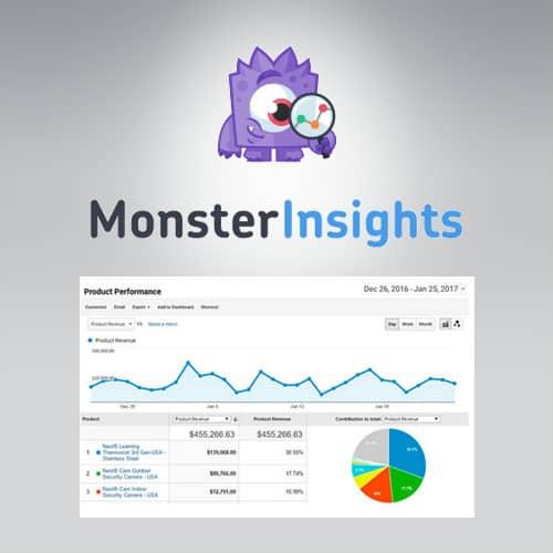 MonsterInsights eCommerce Addon