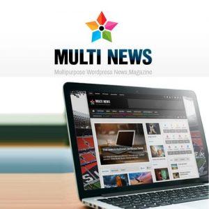 Multinews Multi-purpose WordPress News Magazine