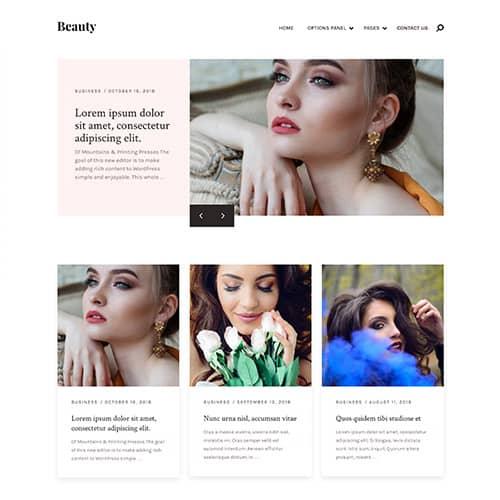 MyThemeShop Beauty WordPress Theme