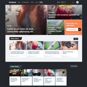 MyThemeShop Dividend WordPress Theme