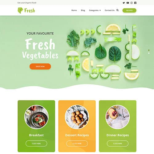 MyThemeShop Fresh WordPress Theme