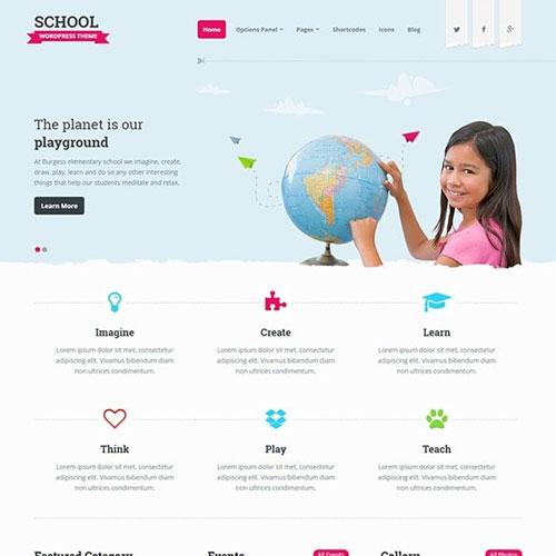 MyThemeShop School WordPress Theme