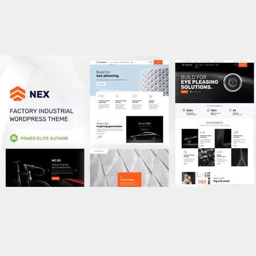 Nex Factory & Industrial WordPress