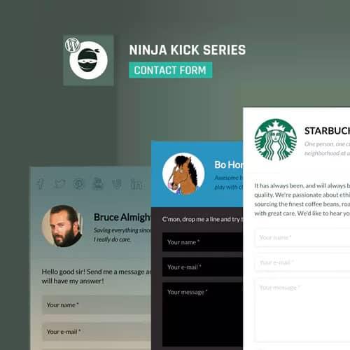 Ninja Kick Contact Form