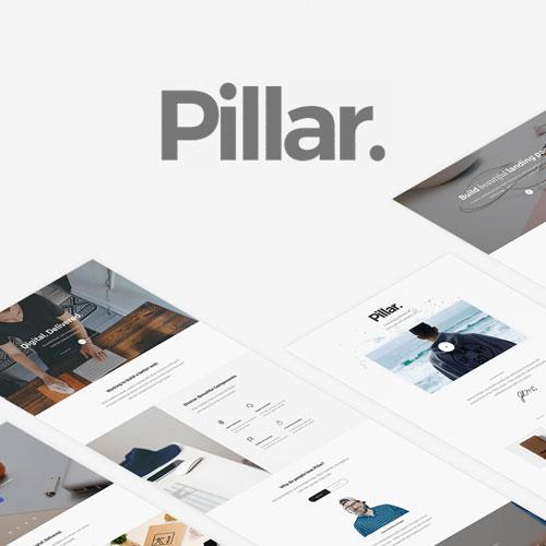 Pillar Multipurpose Multi-Concept Responsive WordPress Theme