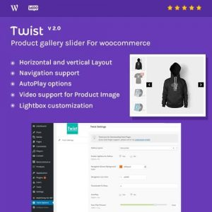 Product Gallery Slider for Woocommerce Twist