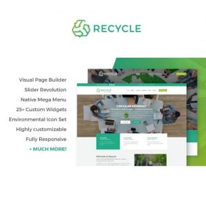 Recycle Environmental & Green Business WordPress Theme