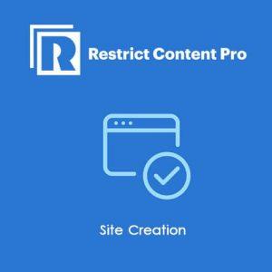 Restrict Content Pro Site Creation