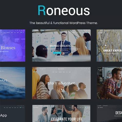 Roneous Creative Multi-Purpose WordPress Theme