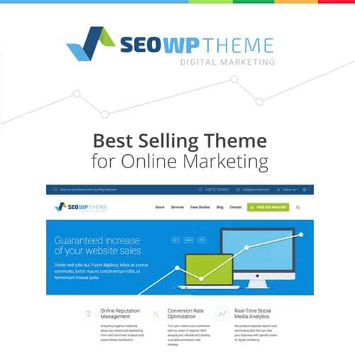 SEO WP Digital Marketing Agency & Social Media Company Theme