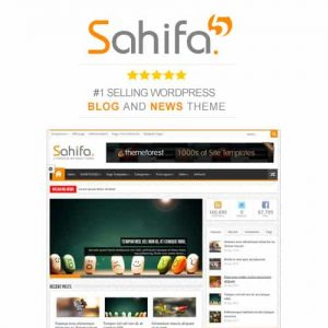 Sahifa - Responsive WordPress News Magazine Blog Theme