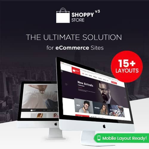 ShoppyStore Multipurpose Responsive WooCommerce WordPress Theme