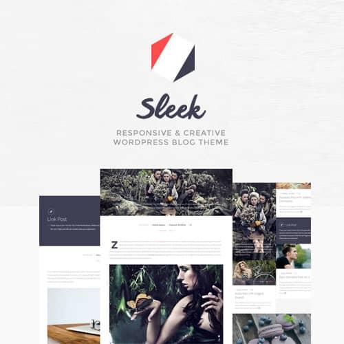 Sleek Responsive Creative WordPress Blog Theme