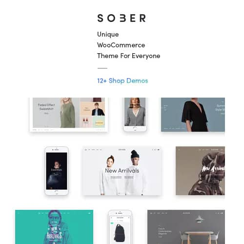 Sober WooCommerce WordPress Theme