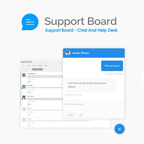 Support Board Chat And Help Desk