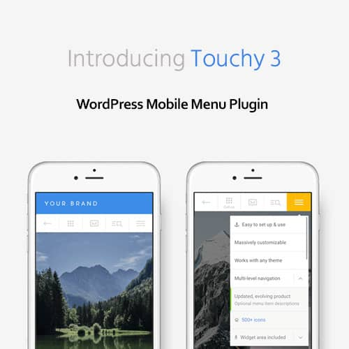 Touchy WordPress Mobile Menu Plugin