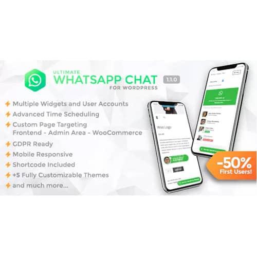 Ultimate WhatsApp Chat WordPress WhatsApp Chat Support Plugin
