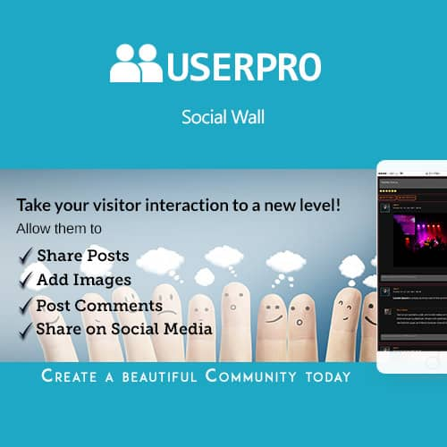 UserPro Social Wall Add-on