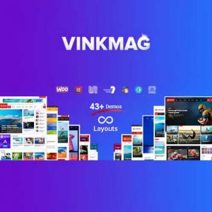 Vinkmag Multi-concept Creative Newspaper News Magazine WordPress Theme